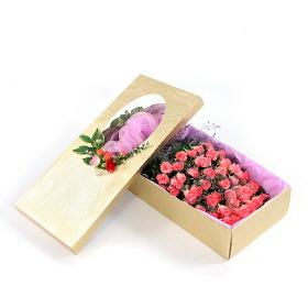 70~100송이 핑크장미 꽃상자