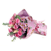 핑크빛 추억(꽃다발)