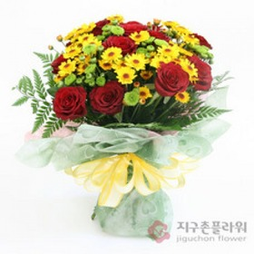 장미소국(꽃다발)
